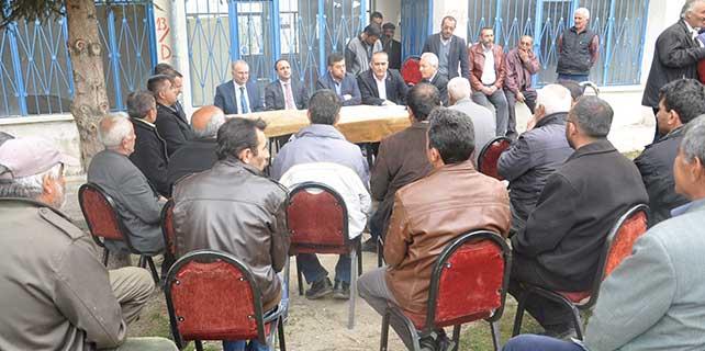 Nevşehir Valisi Ceylan, incelemelerde bulundu