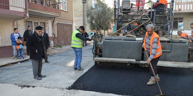 Orhangazi'de asfalt çalışmaları