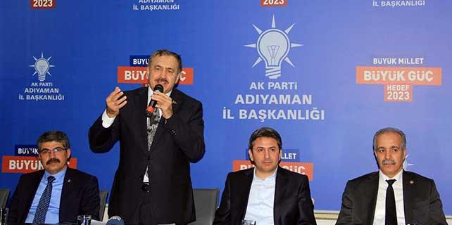 Orman ve Su İşleri Bakanı Eroğlu, Adıyaman'da
