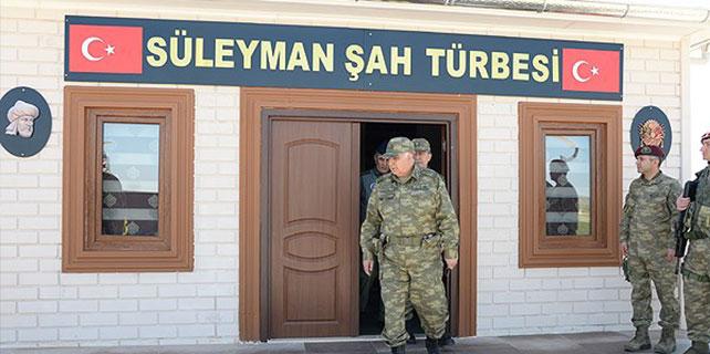 Özel'den Süleyman Şah Saygı Karakolu'na ziyare