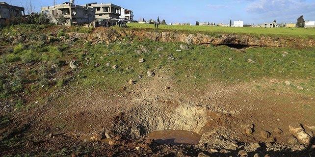 Reyhanlı'da boş arazideki patlama
