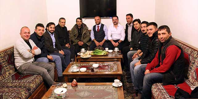 ŞAGİAD yönetim kurulu üyeleri gazetecilerle bir araya geldi
