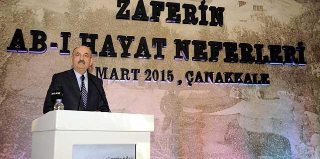 Sağlık Bakanı Müezzinoğlu, Çanakkale'de