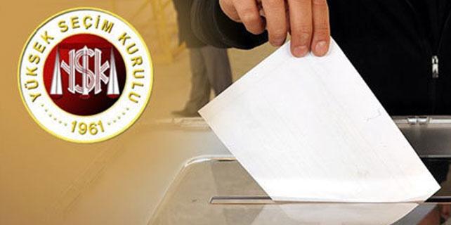 Seçmenler bu habere dikkat!YSK listeleri açıkladı!