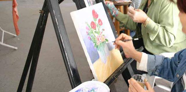 Seydişehir'de Halk Eğitim Merkezi resim kursu açıldı