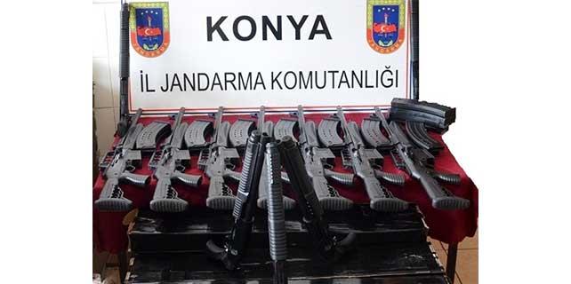 Seydişehir'de yasa dışı silah üretimi