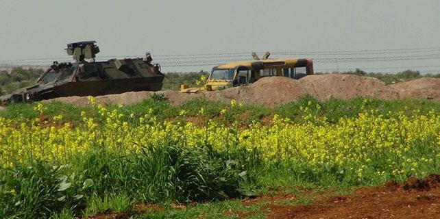 Suriye sınırında asker ateş açtı: 1 ölü