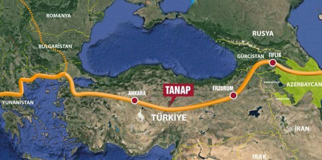 TANAP Projesi Ortaklar Anlaşması imzalandı