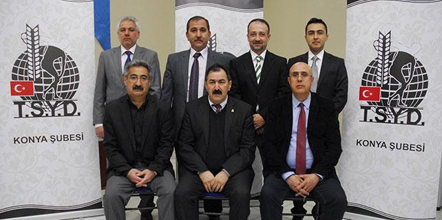 TSYD Konya şubesi genel kurulu yapıldı