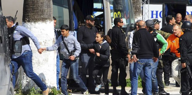 Tunus'ta müzeye baskın: 19 ölü