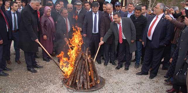 Türki Cumhuriyetlerin katılımıyla nevruz kutlaması