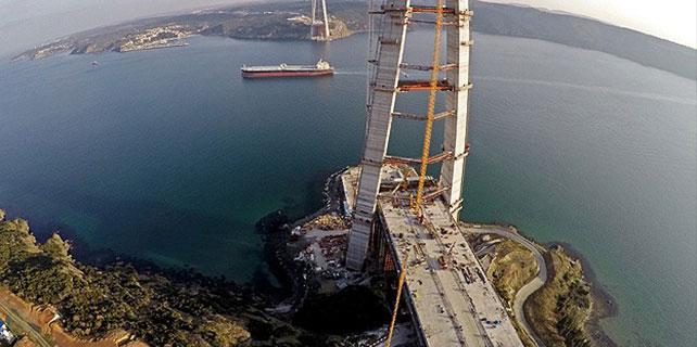 Üçüncü köprü bağlantı yolları 2018'de tamamlanacak