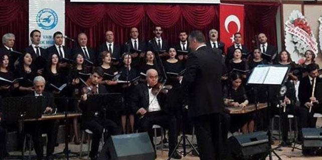 Van Türk Musiki Derneği'nden muhteşem konser