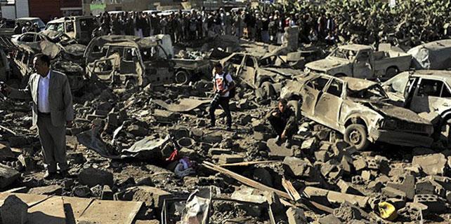 Yemen'de Husilere hava operasyonu