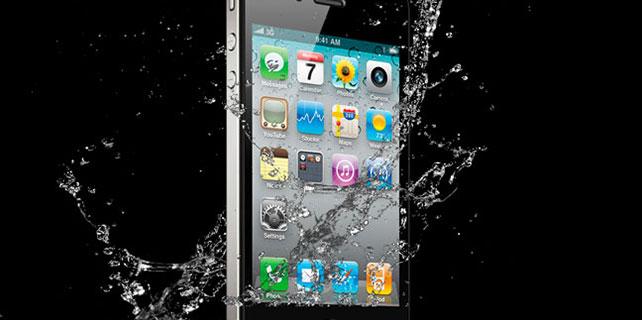 Yeni iPhone'lar suya karşı dayanıklı olacak!