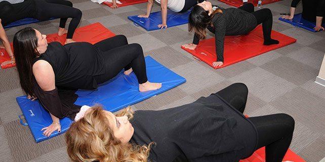 Yoga ile kolay ve daha kısa sürede doğum