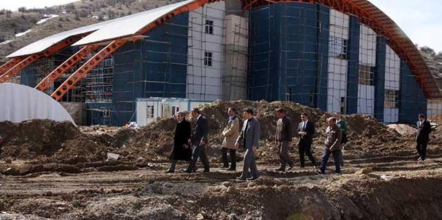 """Yozgat'ta """"Spor Vadisi"""" projesi çalışmaları"""