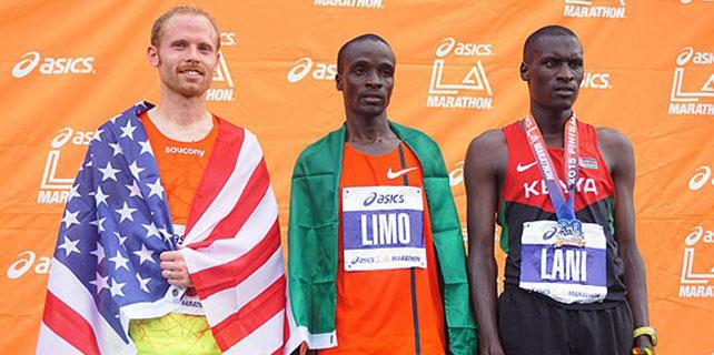 Zafer Kenyalı atletlerin