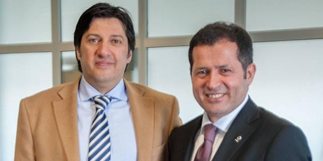 Ziya Altunyaldız'dan gazetemize ziyaret