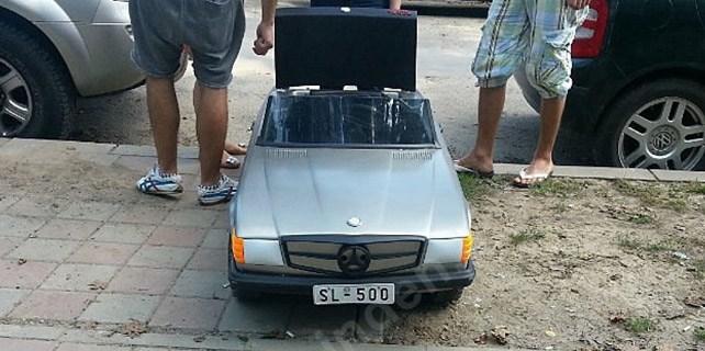 12 bin Euro'ya tek kişilik Mercedes