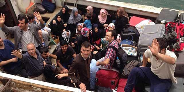55 Türk vatandaşının tahliyesini tamamladı