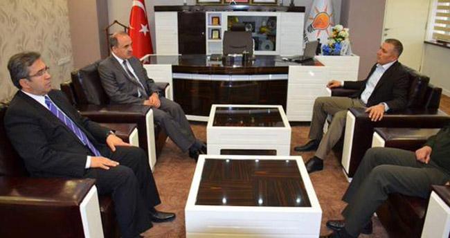 AK Parti Konya İl Başkanı Arat'a ziyaretler sürüyor