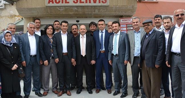 Ak Parti milletvekili adayı Baloğlu Çumra'da