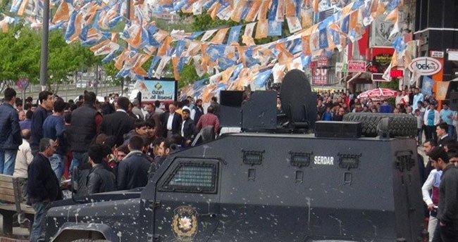 AK Parti seçim bürosunda silahlı çatışma: 1 ölü