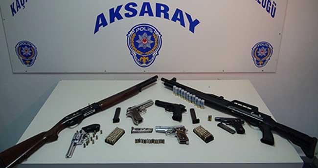 Aksaray'daki uyuşturucu operasyonu