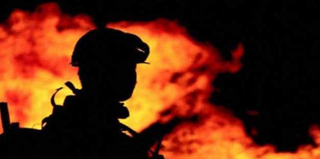 Ankara'daki ev yangını