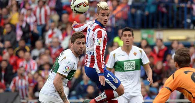 Atletico Madrid Elche'yi 3-0 yendi