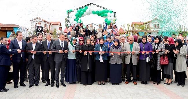 Bacıyan-ı Meram kooperatifi açıldı