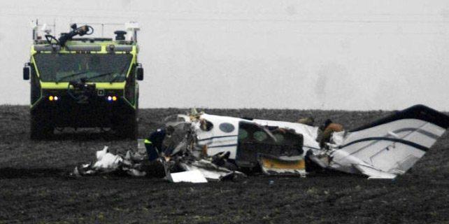 Basketbol turnuvasından dönen uçak düştü: 7 ölü