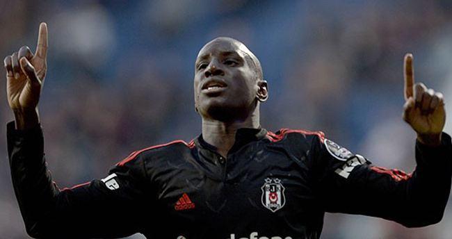 Beşiktaş'ta 13 sezonun en golcüsü Demba Ba