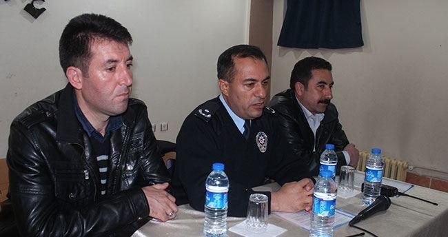 Beyşehir polisinden huzur toplantısı