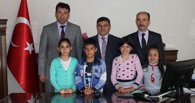 Beyşehir'de makam koltukları çocuklara emanet