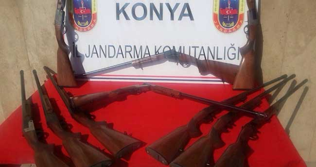 Beyşehir'de yasa dışı silah üretimi iddiası