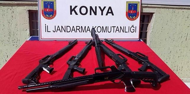 Beyşehir'de yasa dışı tüfek satışı yapan 3 av bayisi kapatıldı