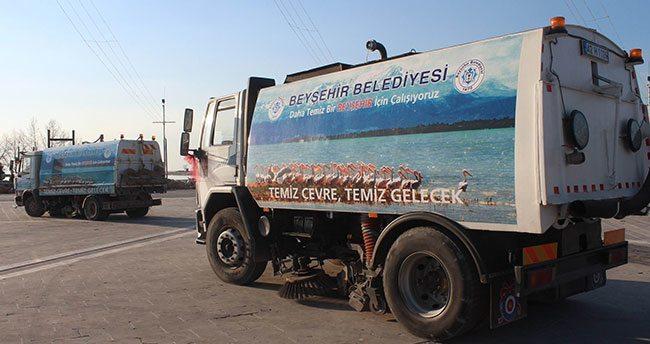Beyşehir'i fotoğraflarla tanıtıyor