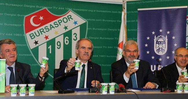 Bursaspor'a 'ayran'lı destek