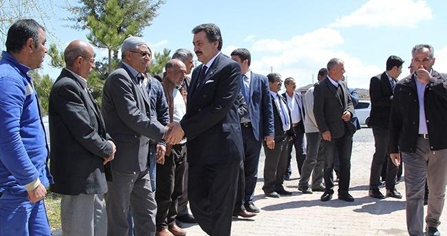 """Cihanbeyli'de """"Mobil Belediye"""" uygulaması sürüyor"""