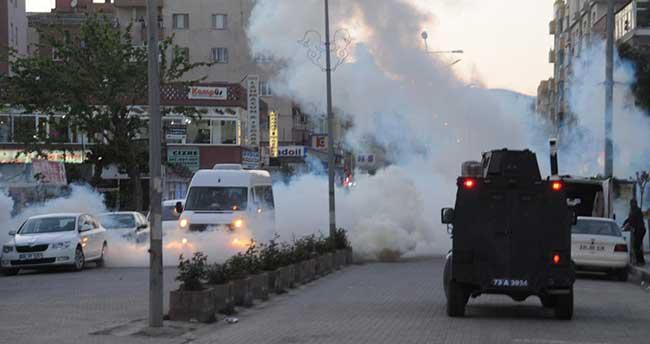 Cizre'de trafik kazası sonrası gerginlik