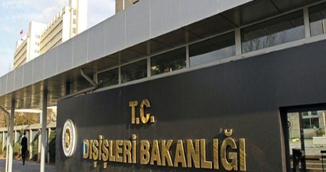 Dışişleri Bakanlığı'ndan açıklama: 'Ölen 2 kişi Türk vatandaşı'