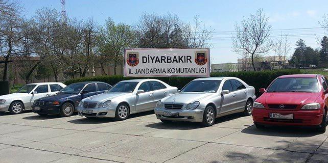 Diyarbakır'da lüks araç operasyonu