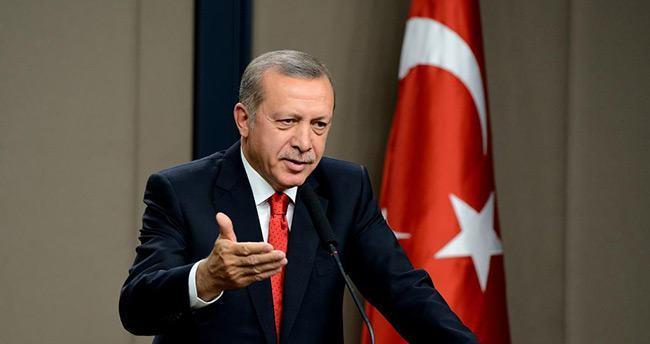 Erdoğan'dan KKTC liderine yanıt