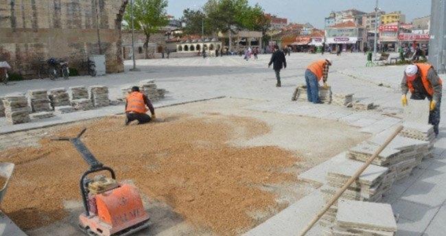 Ereğli'de Ulu Cami Meydanı Düzenleniyor