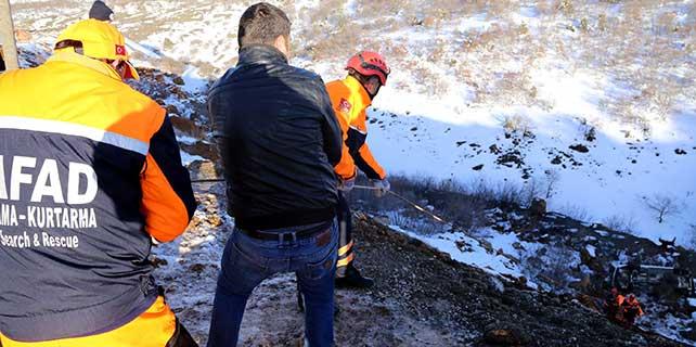 Eskişehir'de otomobil uçuruma yuvarlandı: 1 ölü