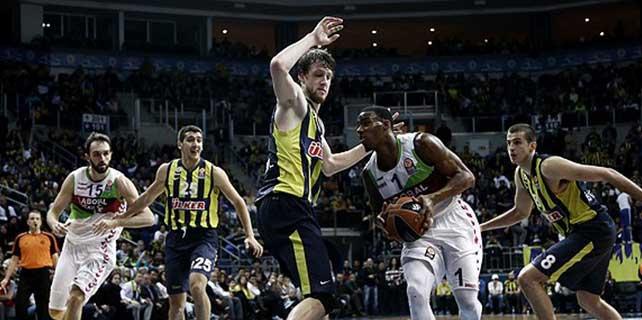 Fenerbahçe potada kaybetti