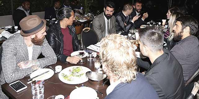 Fenerbahçeliler yemekte buluştu
