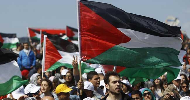 "Filistinlilerden ""Nekbe"" protestosu"